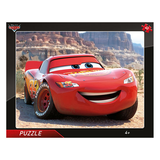Obrázek z Puzzle Cars: Blesk McQueen 40D deskové