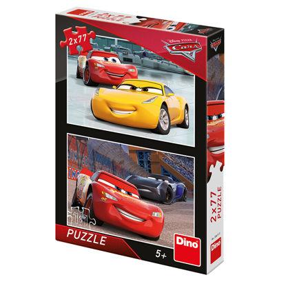 Obrázek Puzzle Cars 3: Závodníci 2x77dílků