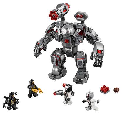 Obrázek LEGO Super Heroes 76124 War Machine v robotickém obleku
