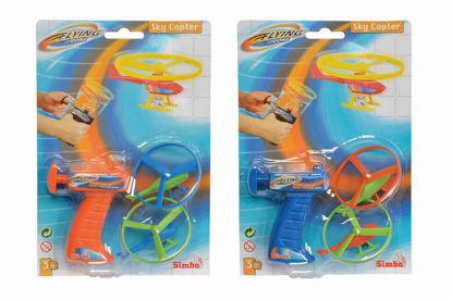 Obrázek Vystřelovací vrtulník, 2 druhy