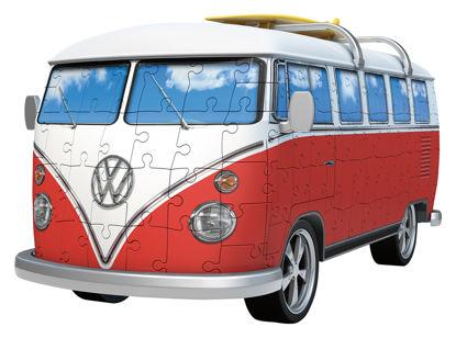 Obrázek Volkswagen autobus 3D puzzle
