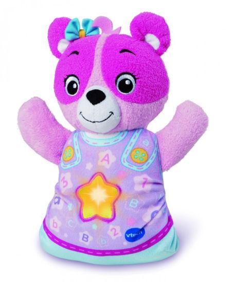 Obrázek z Vtech Usínáček Medvídek CZ - růžový