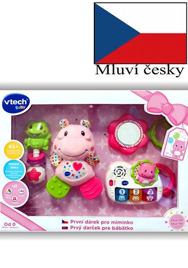 Obrázek z Vtech První dárek pro miminko CZ - růžový