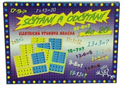 Obrázek Výuková hračka Sčítání a odčítání do 20