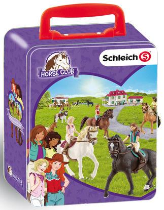 Obrázek Sběratelský kufřík SCHLEICH koně