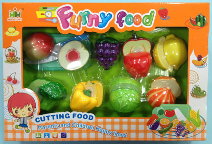 Obrázek Potraviny na suchý zip A