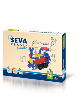 Obrázek SEVA 1 stavebnice Klasik