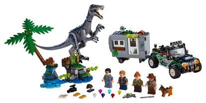 Obrázek LEGO Jurassic World 75935 Setkání s Baryonyxem: Hon za pokladem