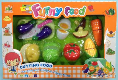 Obrázek Set potravin na suchý zip B