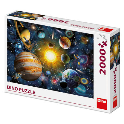 Obrázek Puzzle Sluneční soustava 2000 D