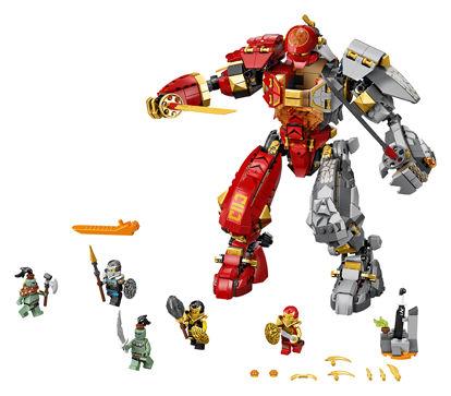 Obrázek LEGO Ninjago 71720 Robot ohně a kamene