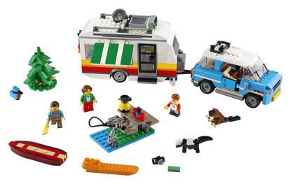 Obrázek LEGO Creator 31108 Rodinná dovolená v karavanu