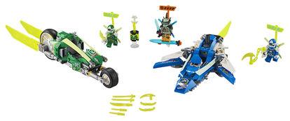 Obrázek LEGO Ninjago 71709 Rychlá jízda s Jayem a Lloydem