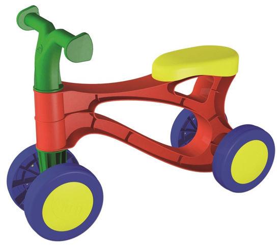 Obrázek z Rolocykl červený, odrážedlo