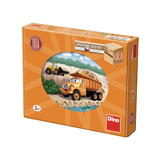 Obrázek z Tatra dřevěné kostky 12