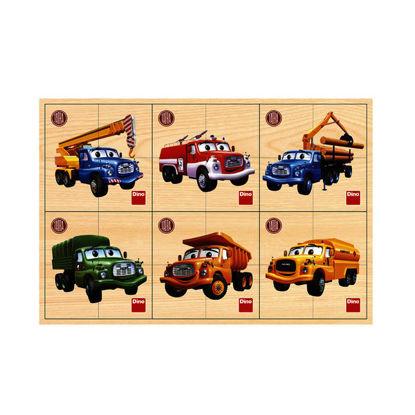 Obrázek Tatra 6x4D dřev. Puzzle
