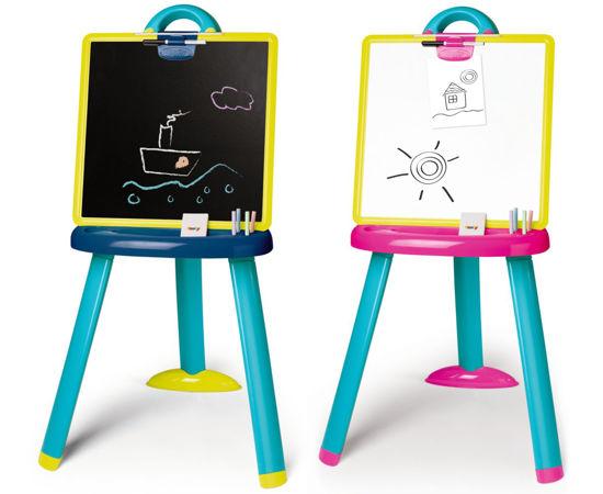 Obrázek z Plastová tabule na kreslení 2v1 stojací