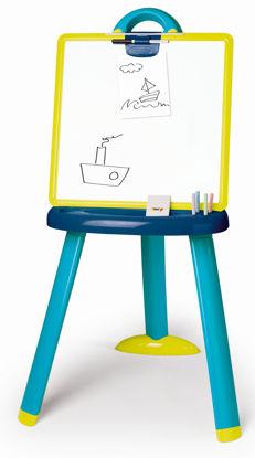 Obrázek Dětská kreslící tabule plastová modrá