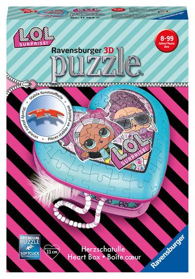 Obrázek z Srdce L.O.L. puzzle 3D