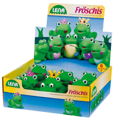 Obrázek Lena zvířátka, žába