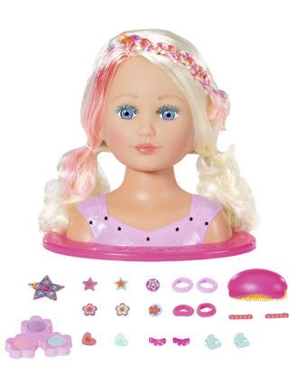 Obrázek Starší sestřička BABY born Česací hlava s barevnými křídami