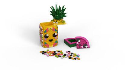 Obrázek LEGO DOTS 41906 Stojánek na tužky ve tvaru ananasu