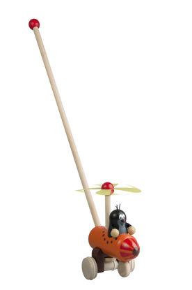 Obrázek Strkadlo Krtek a vrtulník