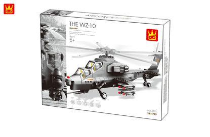 Obrázek Stavebnice vojenský vrtulník, 304 dílů