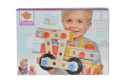 Obrázek Stavebnice Constructor 4 Lokomotiva, 100 dílů