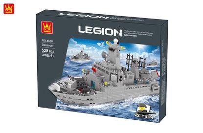 Obrázek Stavebnice vojenská loď, 528 dílů