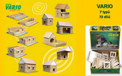 Obrázek Stavebnice VARIO 7 typů