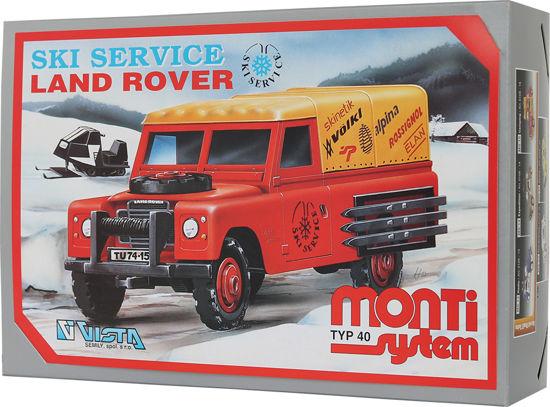 Obrázek z Stavebnice Monti 40 Ski Service - Land Rover