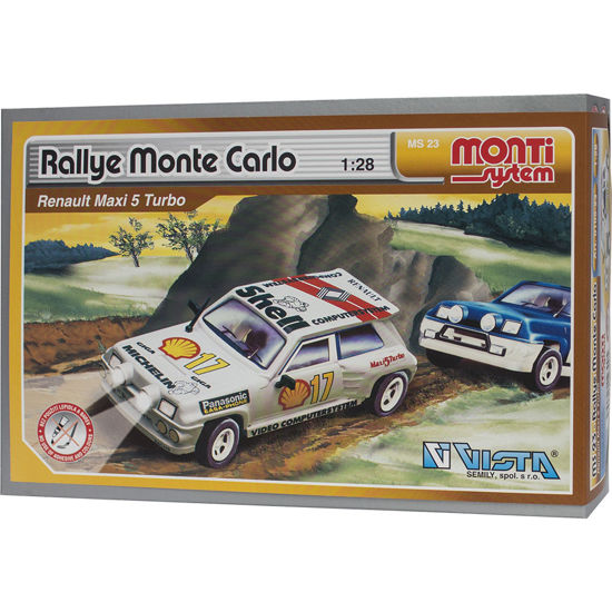 Obrázek z Stavebnice Monti 23 Rallye Monte Carlo