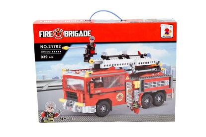 Obrázek Stavebnice hasiči, 939 dílů