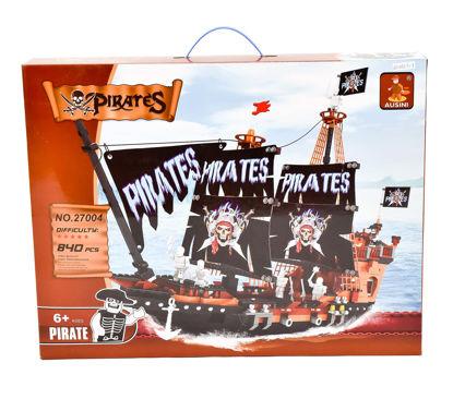 Obrázek Stavebnice pirátská loď, 840 dílů
