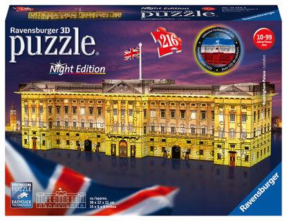 Obrázek Buckinghamský palác (Noční edice) 3D puzzle