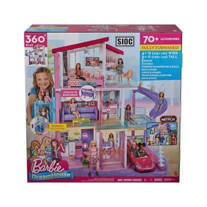 Obrázek Barbie  DŮM SNŮ SE SKLUZAVKOU A NOVÝM VÝTAHEM