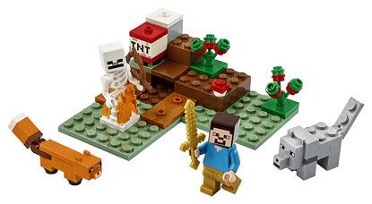 Obrázek LEGO Minecraft 21162 Dobrodružství v tajze