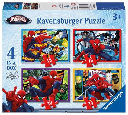 Obrázek Puzzle Disney Spiderman 12/16/20/24 dílků