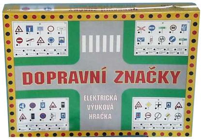 Obrázek Výuková hračka Dopravní značky