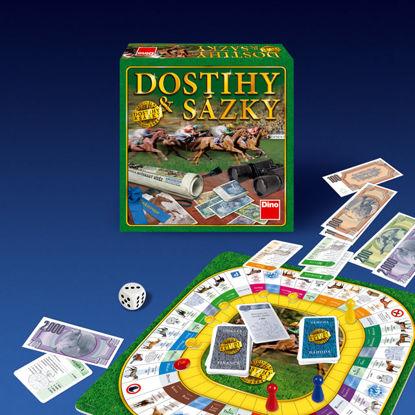 Obrázek DOSTIHY A SÁZKY NOVÉ - rodinná hra