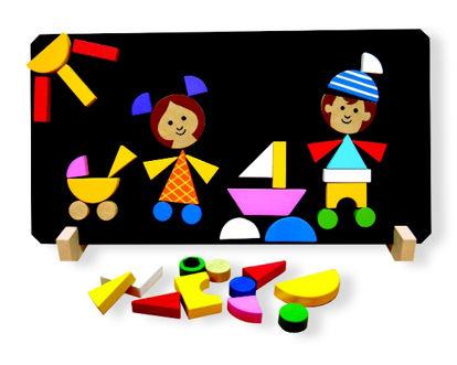 Obrázek Děti magnetické puzzle
