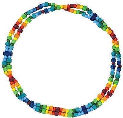 Obrázek Dětský náhrdelník duhový