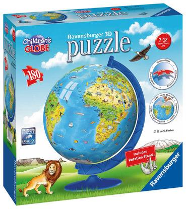 Obrázek Dětský Globus (anglický) puzzle 3D