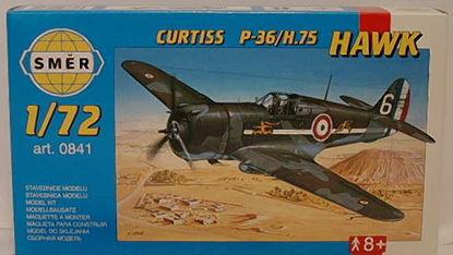 Obrázek Stavebnice Curtiss P-36/H.75 Hawk  1:72
