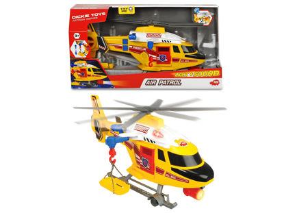 Obrázek Záchranářský vrtulník žlutý