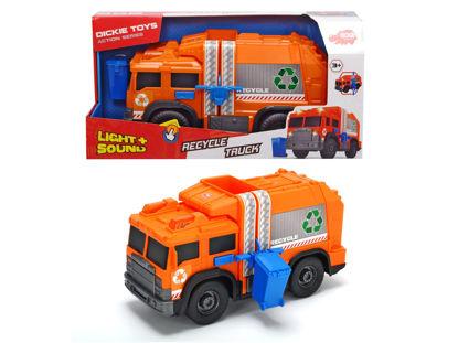 Obrázek Popelářské recyklační auto 30 cm