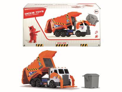 Obrázek Popelářské auto 2  oranžové