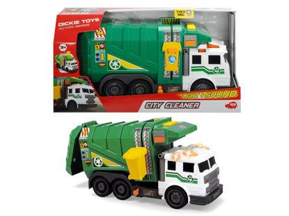 Obrázek Popelářské auto 1  zelené