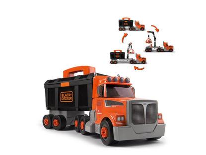 Obrázek Black&Decker  Kamion a dětské nářadí